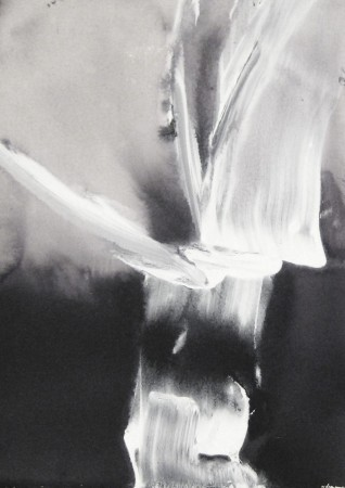 abstract painting-black white-acrylic-10