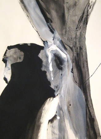 abstract painting-black white-acrylic-6