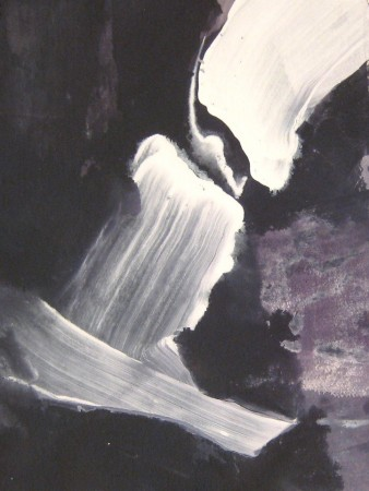 abstract painting-black white-acrylic-7