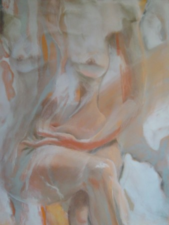 painting-acrylic-drawing-pastel-Once a Ballerina