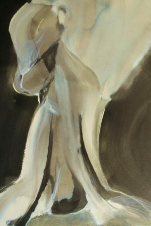 Neck 2, acrylic, 22