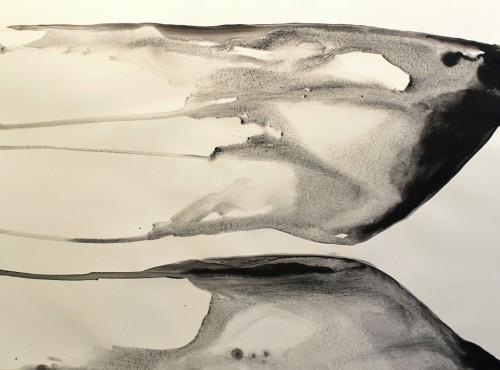 Alaria #16, acrylic, 22