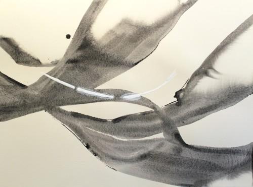 Alaria #31, acrylic, 22