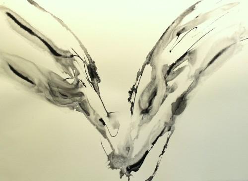 Alaria #41, acrylic, 22
