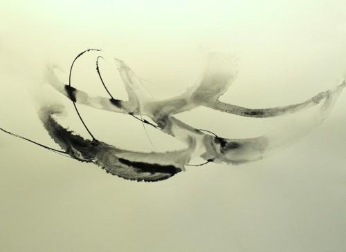 Alaria #43, acrylic, 22