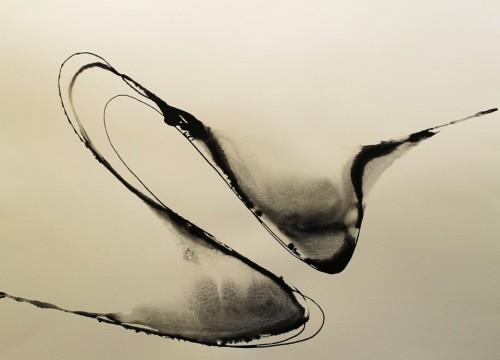 Alaria #44, acrylic, 22