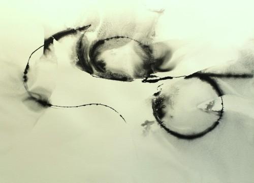 Alaria #46, acrylic, 22
