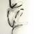 Alaria #48, acrylic, 22