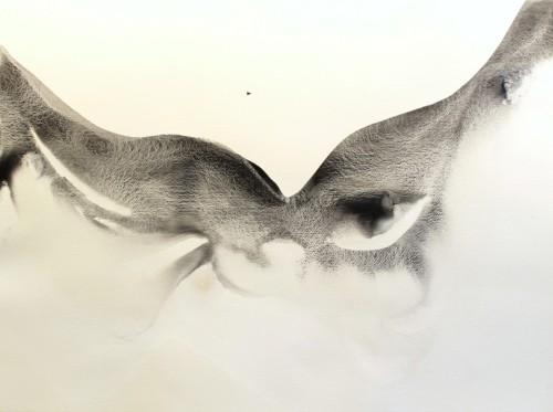Alaria #6, acrylic, 22